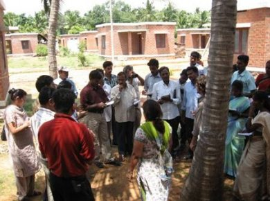Group at Veerapagupathi reconstruction project